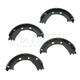 1ABPS00524-Parking Brake Shoe Set Rear