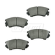 1ABPS00516-Chevy Camaro Caprice Brake Pads Front  Nakamoto CD1404