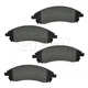 1ABPS00512-Brake Pads Front