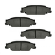 1ABPS00510-Brake Pads Rear