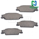 1ABPS00511-Brake Pads Rear Nakamoto CD922