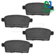 1ABPS00504-Brake Pads Rear
