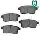1ABPS00503-Brake Pads Rear  Nakamoto MD1259
