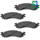 1ABPS00502-Brake Pads  Nakamoto CD1158