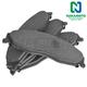 1ABPS00509-Brake Pads Front Nakamoto CD921