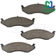 1ABPS00500-Jeep Brake Pads Front Nakamoto CD477