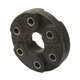 1ADSH00018-Jaguar Driveshaft Coupler Rear
