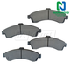 1ABPS00380-Brake Pads Front Nakamoto MD882