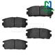 1ABPS00387-Brake Pads Rear