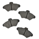 1ABPS00392-Brake Pads SEMI-METALLIC