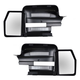 1AMRP01031-2009-13 Ford F150 Truck Clip On Mirror Extension Pair