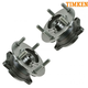 TKSHS00537-2008-15 Mitsubishi Lancer Evolution Wheel Bearing & Hub Assembly Rear Pair