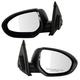 1AMRP01017-Mazda 3 Mirror Pair