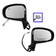 1AMRP01014-2009-13 Toyota Venza Mirror Pair