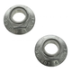 1ABMX00192-Spindle Nut Front Pair