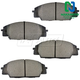 1ABPS00429-Brake Pads CERAMIC Front