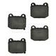 1ABPS00433-Brake Pads CERAMIC