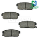 1ABPS00416-Honda Accord Civic Brake Pads  Nakamoto CD959