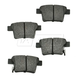 1ABPS00449-Brake Pads Rear