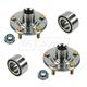 1ASHS00314-Wheel Bearing & Hub Kit Pair Front