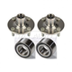 1ASHS00313-Wheel Bearing & Hub Kit Pair Front