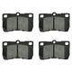 1ABPS00453-Lexus Brake Pads Rear