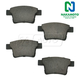 1ABPS00450-Brake Pads Rear