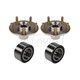 1ASHS00318-Wheel Bearing & Hub Kit Pair