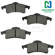 1ABPS00438-1999-04 Jeep Grand Cherokee Brake Pads Rear Nakamoto MD791
