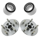 1ASHS00325-1993-02 Mercury Villager Nissan Quest Wheel Bearing & Hub Kit Pair Front