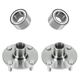 1ASHS00324-Wheel Bearing & Hub Assembly Front Pair