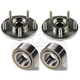1ASHS00323-2006-09 Hyundai Sonata Wheel Bearing & Hub Kit Pair Front