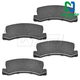 1ABPS00445-Brake Pads Rear