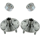 1ASHS00329-Kia Spectra Spectra 5 Wheel Bearing & Hub Kit Pair Front