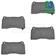 1ABPS00441-Brake Pads Front