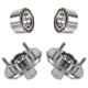 1ASHS00327-1998-01 Nissan Altima Wheel Bearing & Hub Kit Pair Front