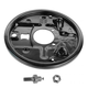 1ABMX00145-Brake Backing Plate Rear