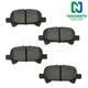 1ABPS00471-Toyota Avalon Camry Solara Brake Pads Rear