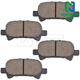 1ABPS00472-Toyota Avalon Camry Solara Brake Pads Rear