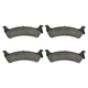 1ABPS00470-1995-98 Jeep Grand Cherokee Brake Pads Rear