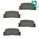 1ABPS00458-Brake Pads Rear