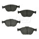 1ABPS00463-Ford Focus Transit Connect Brake Pads Front