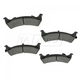 1ABPS00498-1993-94 Jeep Grand Cherokee Brake Pads Rear