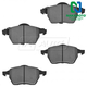 1ABPS00494-Brake Pad with Wear Sensor