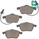 1ABPS00495-Brake Pad with Wear Sensor Front