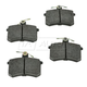 1ABPS00492-Brake Pads Rear