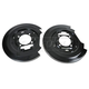 1ABMX00118-Brake Backing Plate Rear Pair