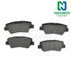 1ABPS00488-Brake Pads Rear  Nakamoto MD1313