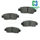 1ABPS00484-1995-99 Toyota Avalon Brake Pads Rear  Nakamoto MD672