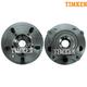 TKSHS00515-Land Rover Wheel Bearing & Hub Assembly Front Pair Timken HA500601